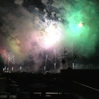 長岡祭り花火大会 ユニバーサルハイツ大島新町